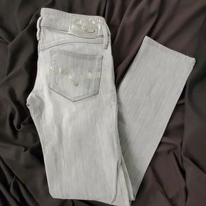 Diesel Matic gray/silver stretch jeans sz.27/34